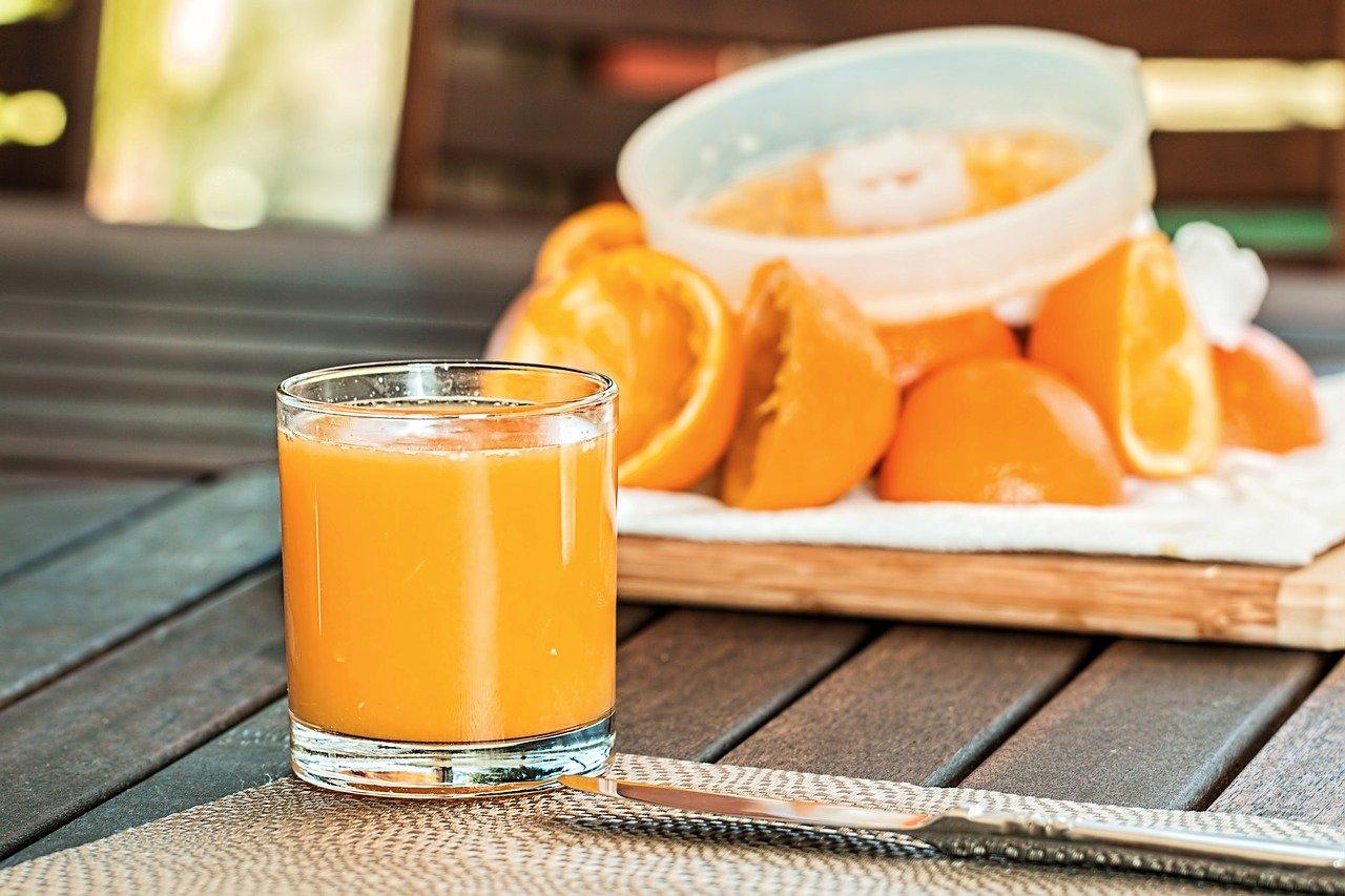 jus orange vitamine C