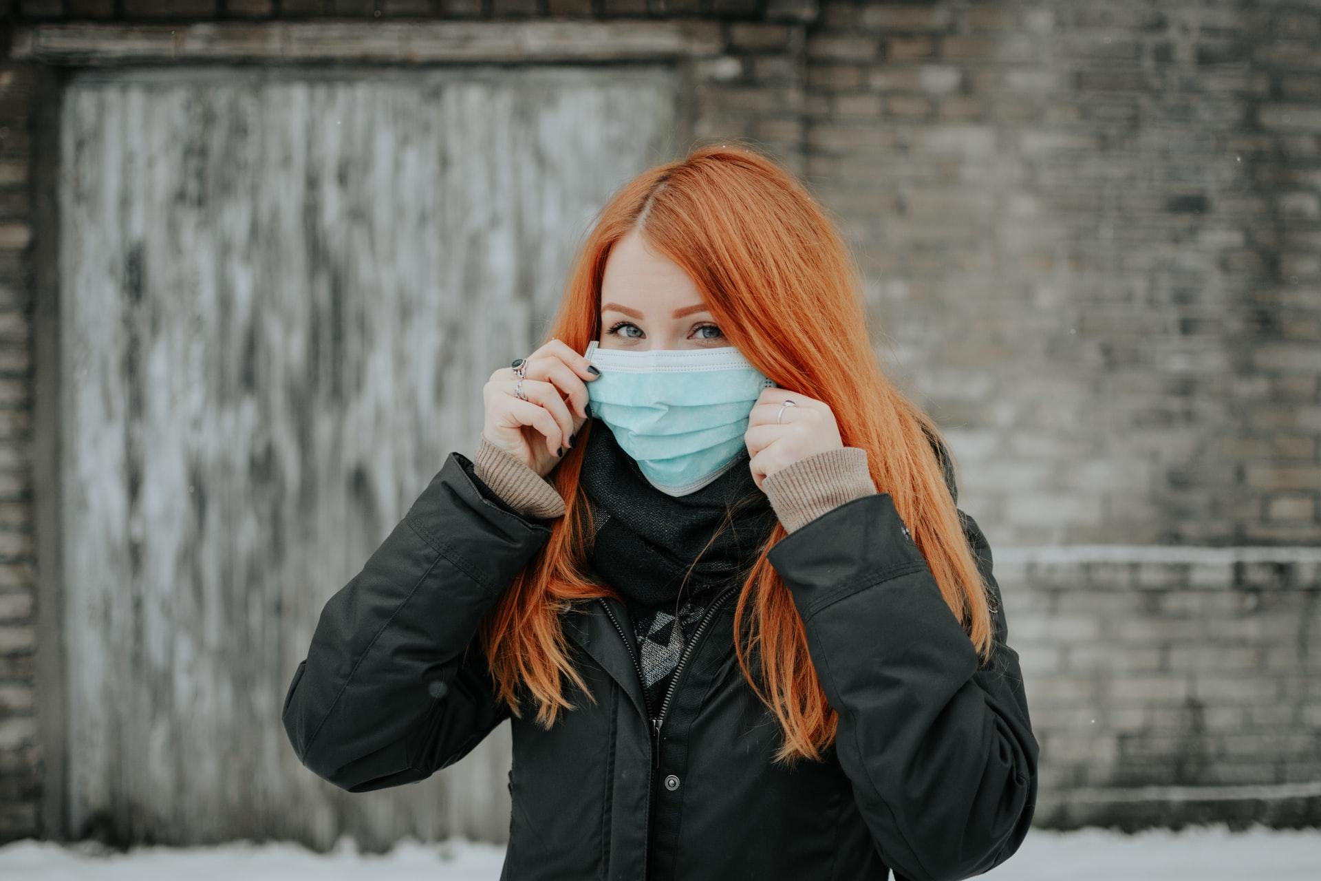 masque avec du style